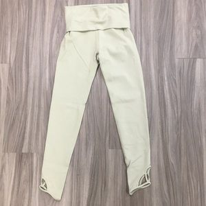 Free People Movement Light Green Athletic Pants